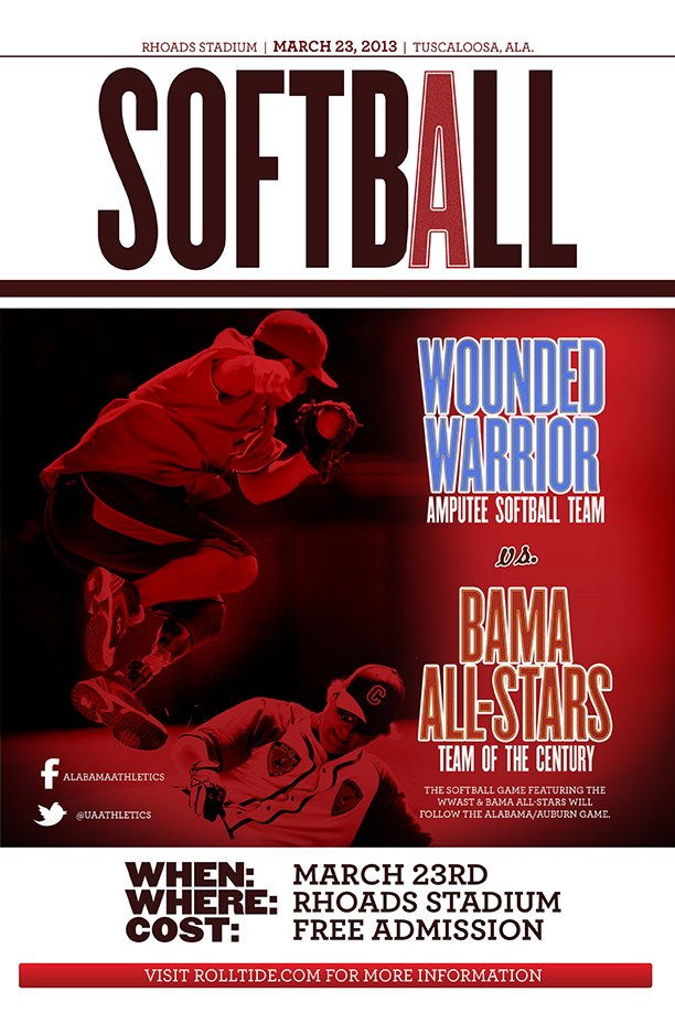 Wounded Warrior Alabama Softball Game