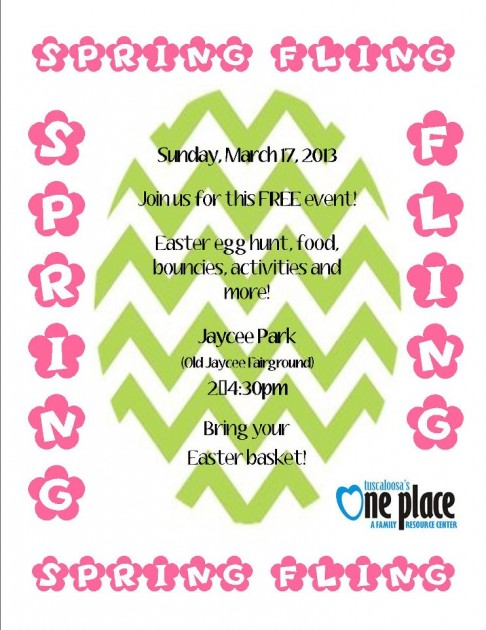 Tuscaloosa's One Place Spring Fling 2013