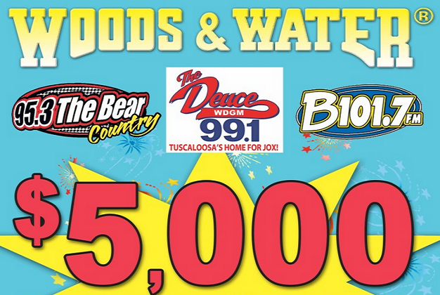 Woods and Water $5,000
