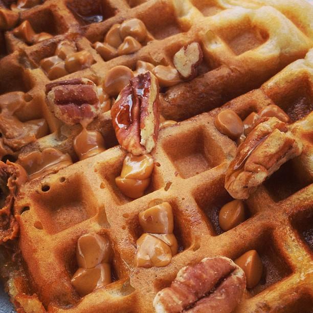 Waffle house pecan waffle