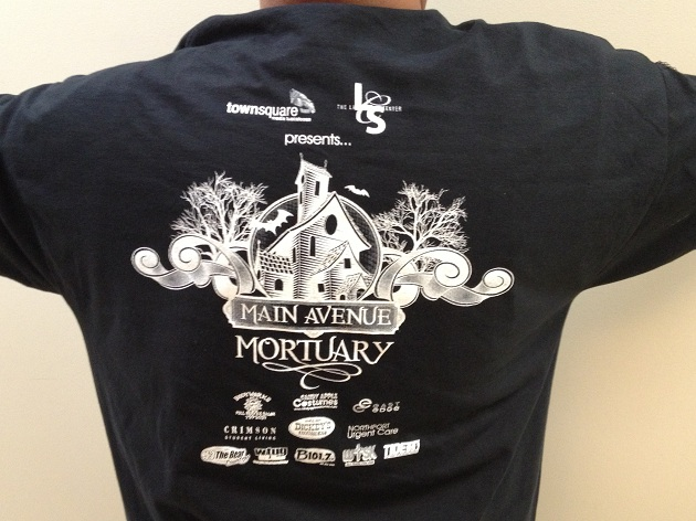 Main Avenue Mortuary T-Shirt